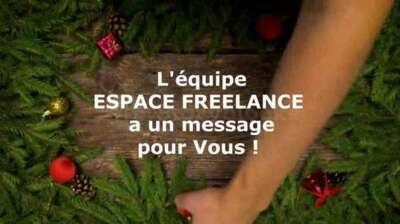 espace-freelance.fr - Joyeuses fêtes et Bonne année 2021